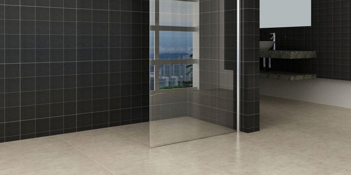 Comfort Clear Glass Walk-in Shower