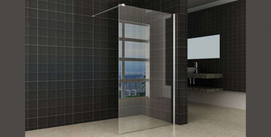Comfort Clear Glass Walk-in Shower