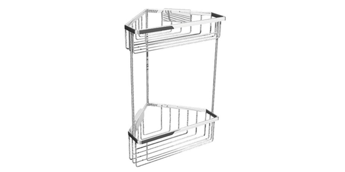 Corner Shower Basket 2 tier