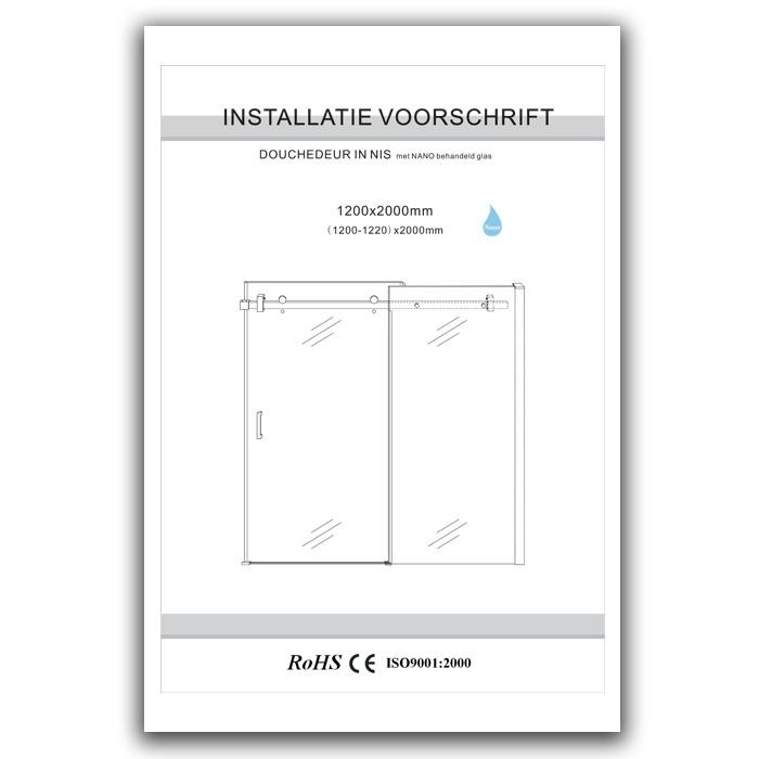 Installation Instructions 1200mm