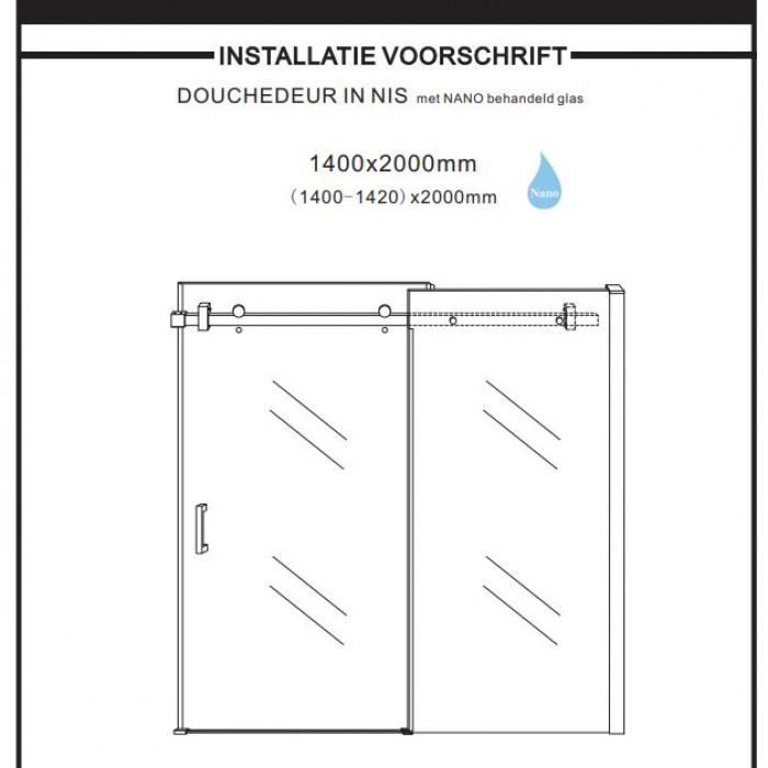 Installation Instructions 1400mm