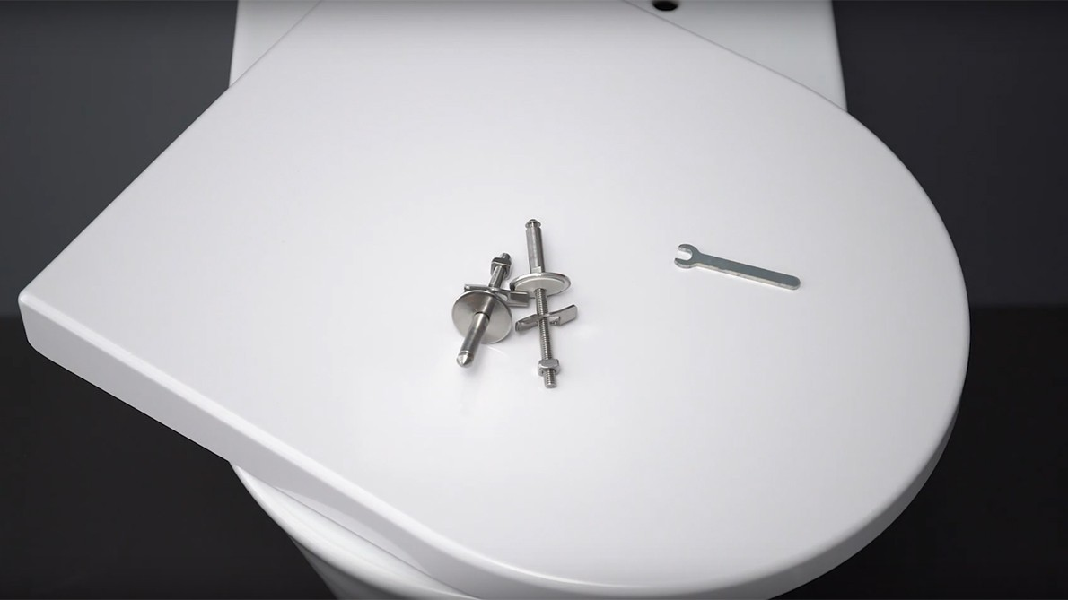How to install a slowclose ClipOff® toilet seat?