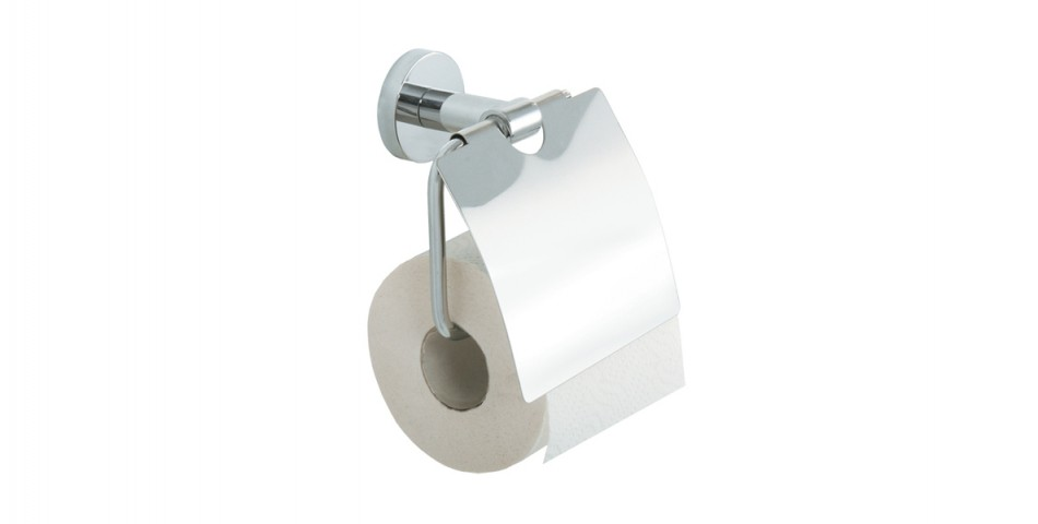 Toilet Roll Holder c/w Flap