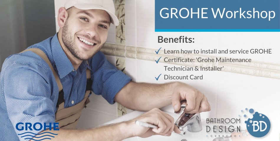 Sign up for our GROHE Workshop today!