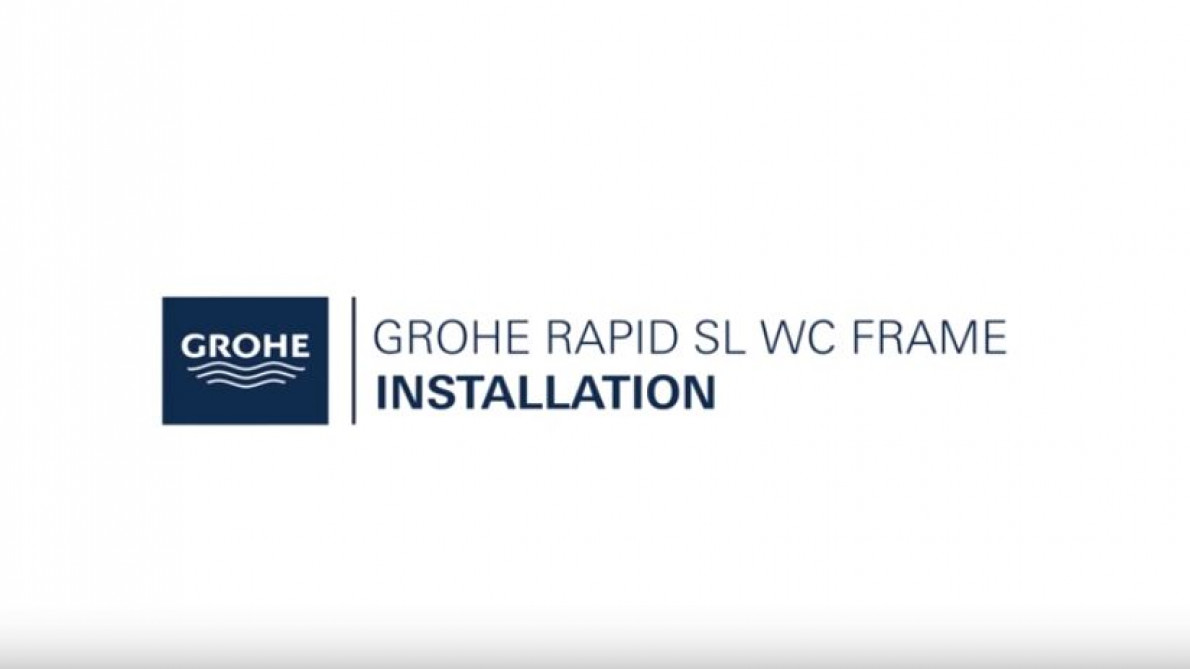 GROHE Rapid SL installation