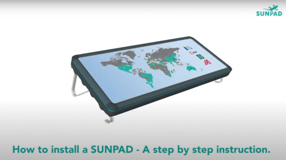 How to install a Sunpad?