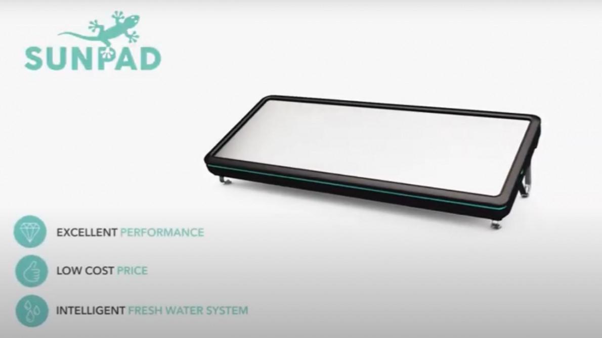 SUNPAD - World´s most revolutionary solar water heater