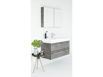 Coast - Bathroom Design Curacao | Coast | Width: 100 cm | Color: M67 Jura | Type: D