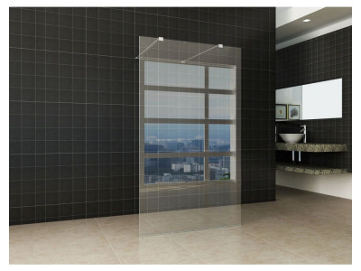 Freestanding walk-in shower - Freestanding Walk-in Shower | Bathroom Design Curacao