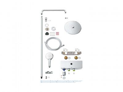 Grohe Euphoria SmartControl System 260 Mono - Grohe Euphoria SmartControl System 260 Mono | Bathroom Design Curacao