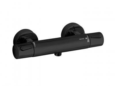 Black Friday 2020 Promotion - Bathroom Design Curacao | Silhouet thermostatic mixer | Matt Black