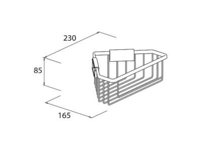 Corner Shower Basket - 1a441c76e-15cf451