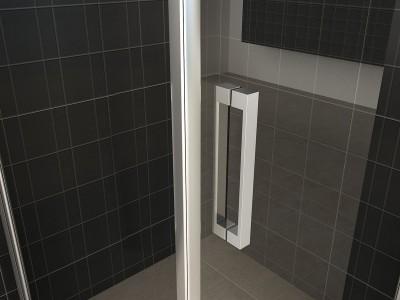 Single Shower Cabin - Single Shower Cabin | Bathroom Design Curacao
