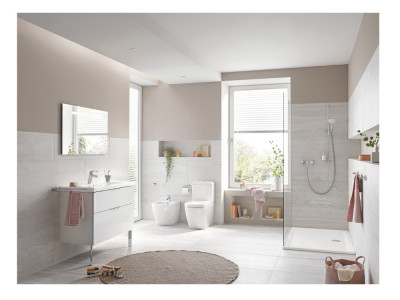 GROHE Euro Floorstanding Toilet - GROHE Bau Floorstanding Toilet | Bathroom Design Curacao