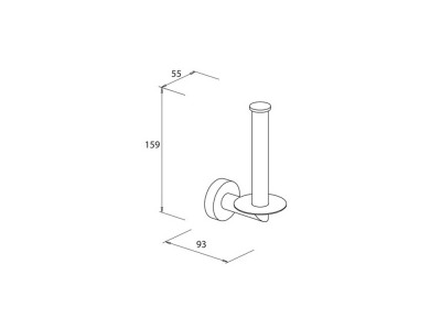 Spare Toilet Roll Holder - 30d9661b2a-7010e3