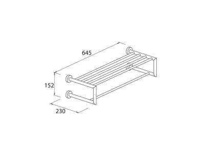 Towel Rail 60 - 5971530a6-1b30c5b