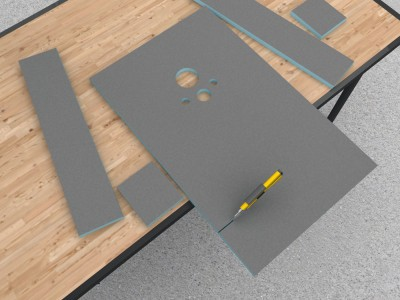 Wedi I-Board - Wedi I-Board | Bathroom Design Curacao