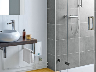 E-compact instant water heater CEX 9 - Bathroom Design Curacao | Clage CEX 9