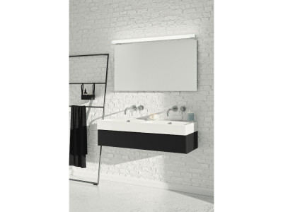 Coast - Bathroom Design Curacao | Coast | Width: 120 cm | Color: M13 Graphite Black | Type: F Tipmatic push-to-open