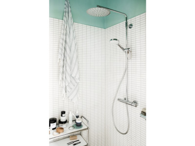 Damixa Silhouet Shower System - Bathroom Design Curacao | Silhouet shower system | Chrome