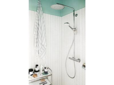 Damixa Silhouet Shower System - Bathroom Design Curacao   Silhouet shower system   Chrome