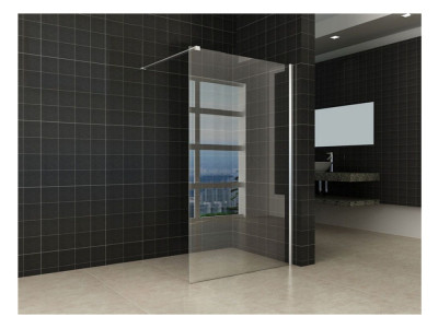 Comfort Clear Glass Walk-in Shower - Glass Walk-in Shower | Bathroom Design Curacao