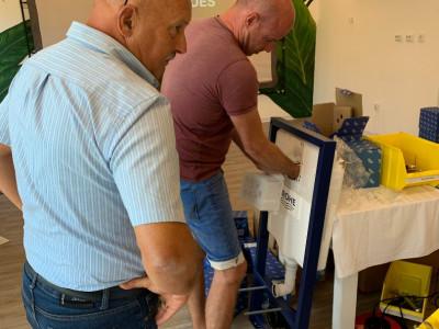 Bathroom Design Curacao and GROHE train 33 professionals for free - GROHE Workshop | Bathroom Design Curacao