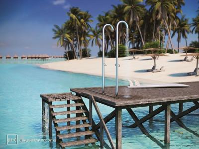JEE-O original shower 01 - JEE-O Original 01 | Bathroom Design Curacao