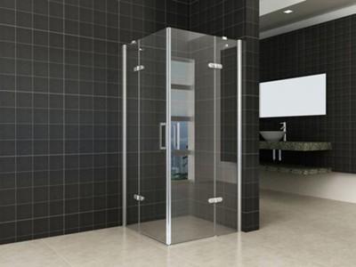 Corner shower cabin with revolving doors - MAIN 20.3846