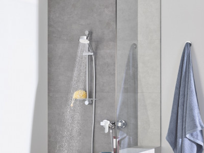 Grohe Bauedge Single-lever Shower Mixer - Grohe Bauedge Single-lever Shower Mixer | Bathroom Design Curacao